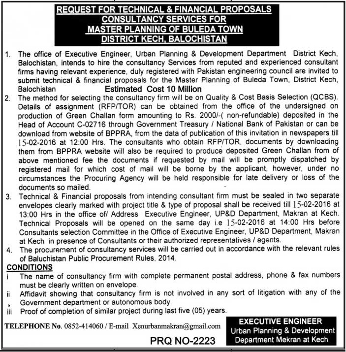 Consultant Quetta-Jang