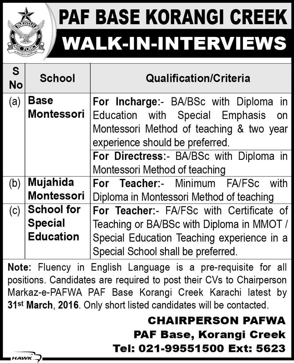 walk in interview for jobs at air force paf base get jobs in email