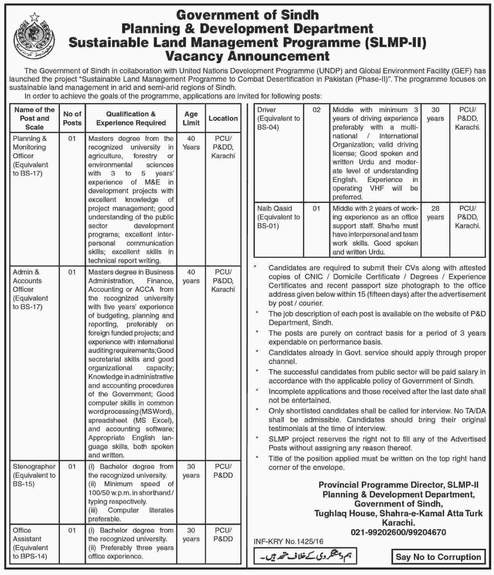 Executive jobs at sustainable land management programme slmp ii slmp dawn sciox Gallery