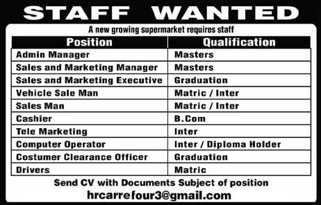 Excellent Jobs Opportunities Available 10 Job Vacancies At