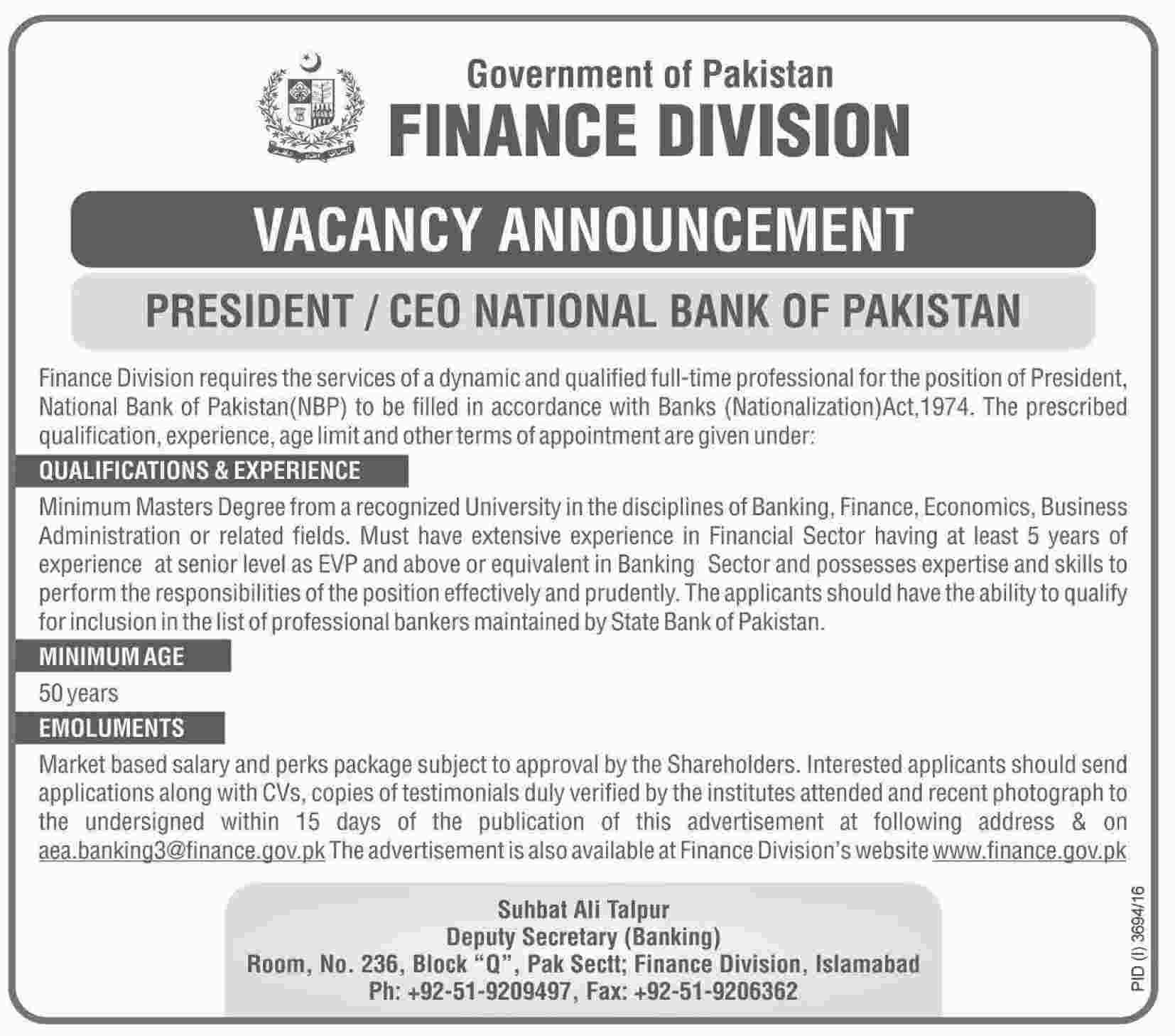 national bank of pakistan nbp jobs 2017 available for