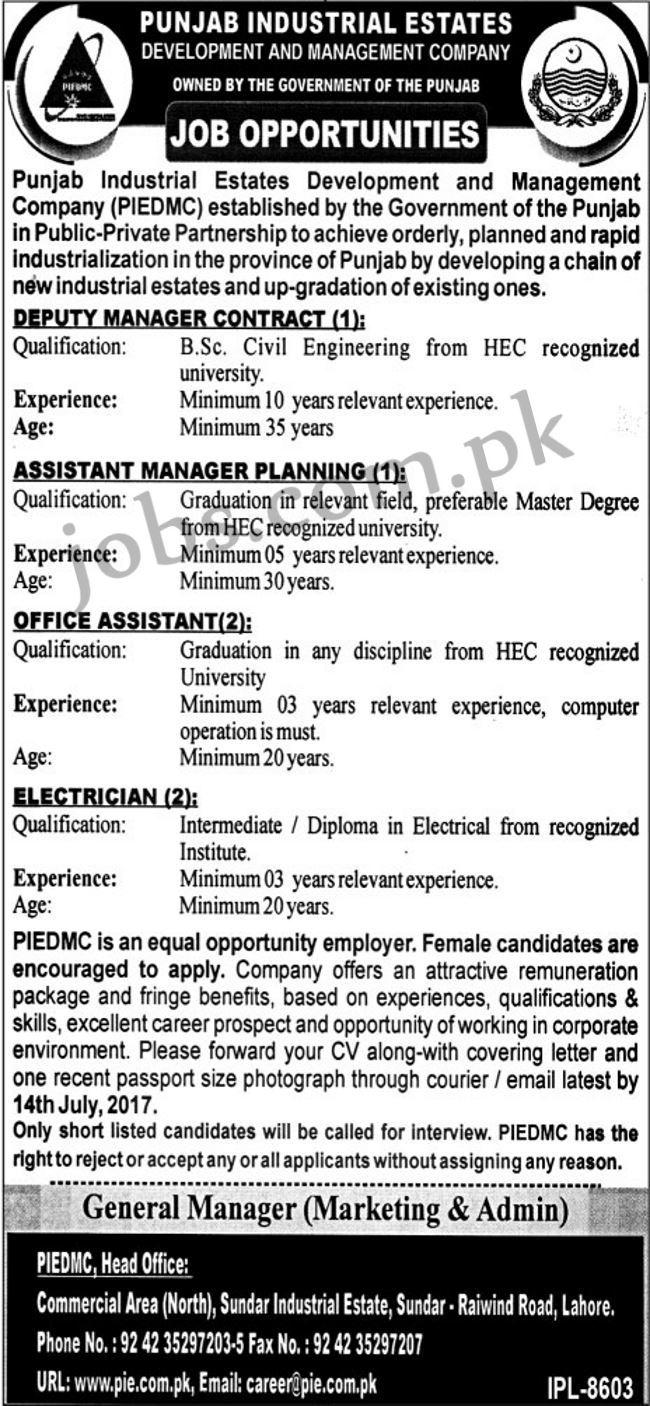 Punjab Industrial Estates Development and Management Company