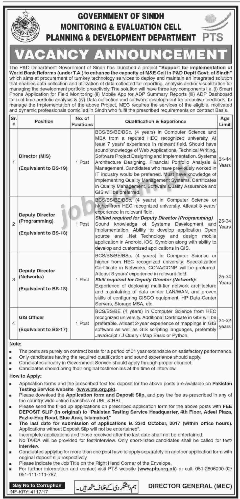 on online govt job form submit