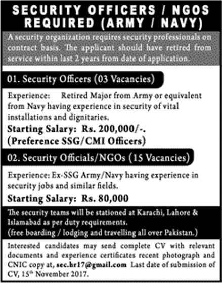 security organization jobs 2017 for 18  security officers