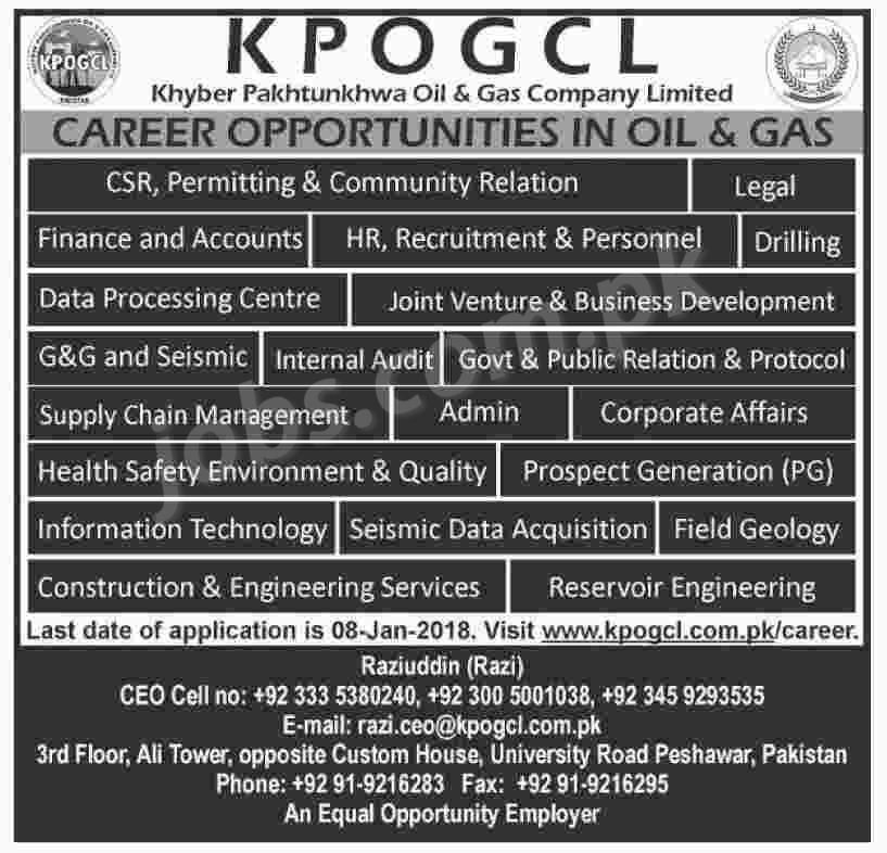 OGDCL jobs 208