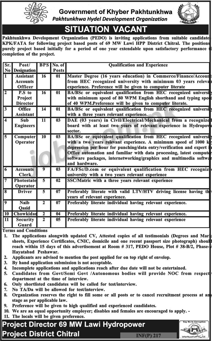 new government jobs in kpk 2018 www.PakPride.com
