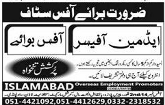 Govt Jobs Office Boy