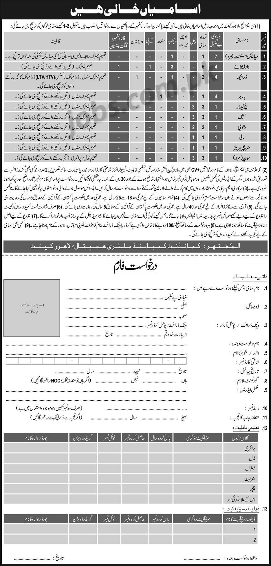 PA-lhr-exp Job Application Form Ogdcl on part time, blank generic, free generic,