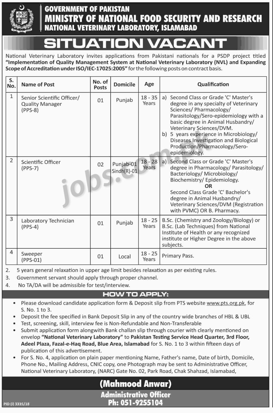 MNF-dw-pts Online Govt Job Form Submit on