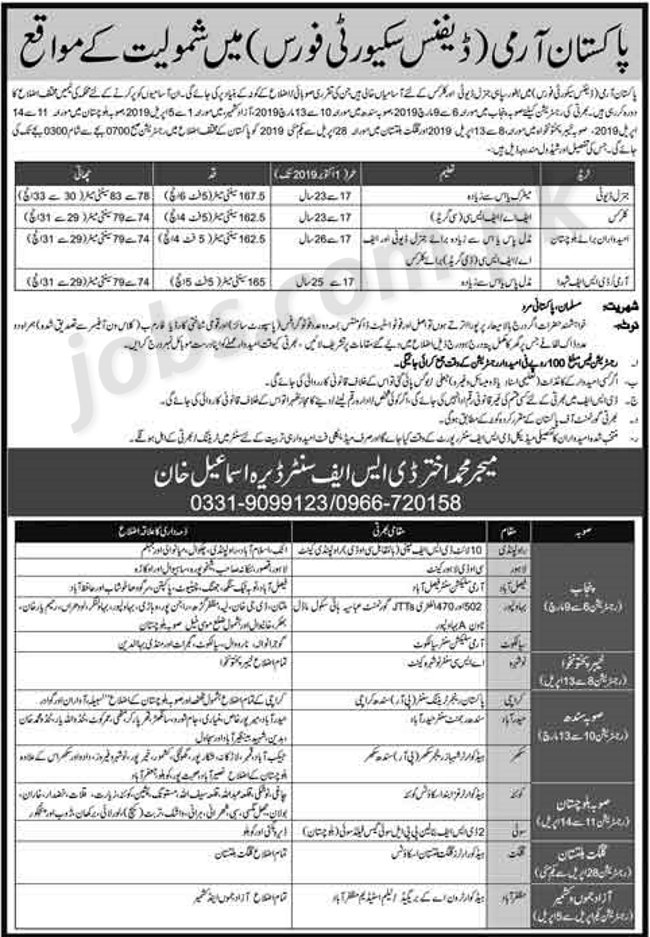 PakArmyDefence-ads-dn Online Form Army Gd on oer support, statement charges, 2a usar,