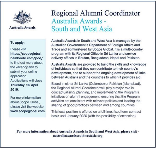 Australia awards bangladesh
