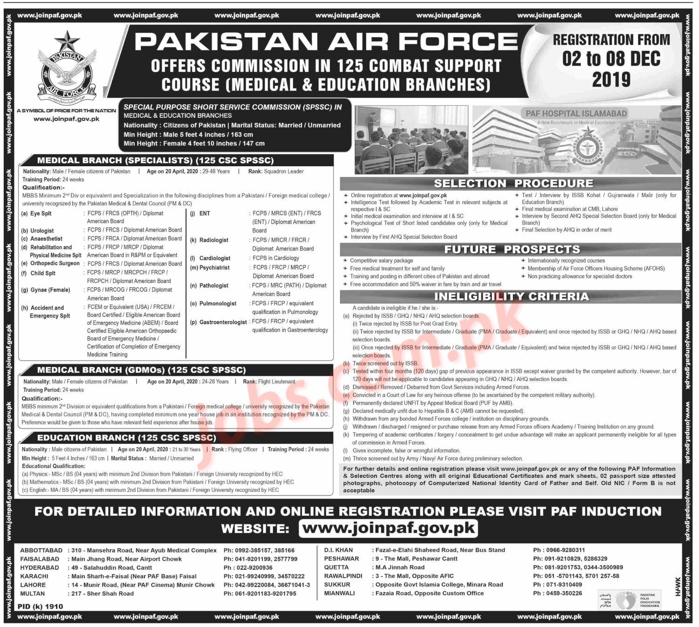 paf-dw Online Form For Govt Job on